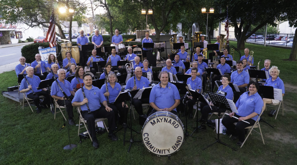 "the ""MAYNARD COMMUNITY BAND"""